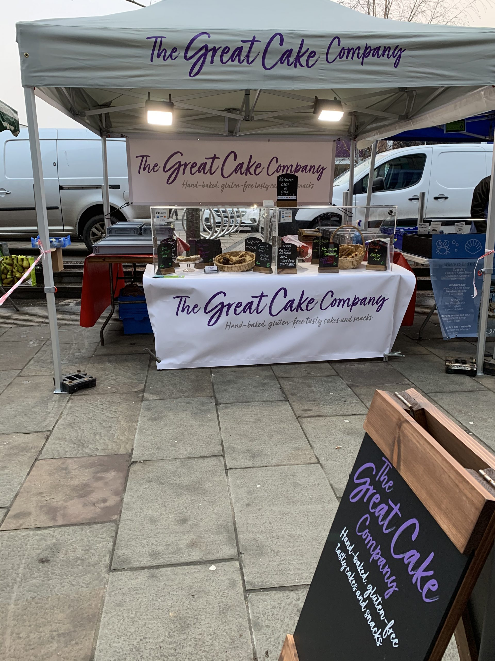 Find us at Farmers and Street Markets or have a Direct-2-Home Delivery